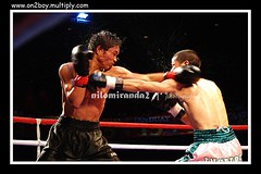 splash (on2boy) Tags: olympus ring boxing splash fightnight ringside evolt e500 onemoretime supershot cebusugbo on2boy excellentphotographersaward sweatout