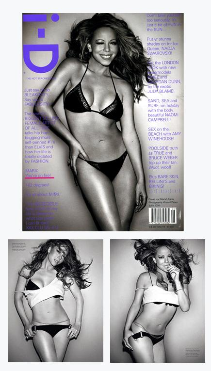 mariah carey id magazine