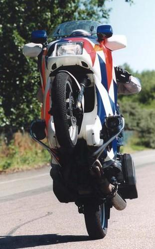 police - wheelie by wonderstate.