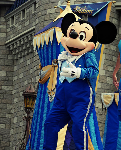 Mickey at Disney World