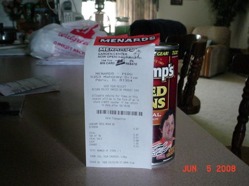 MENARDS BIG CARD