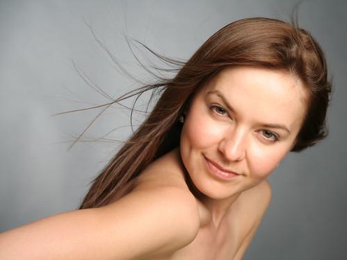 [フリー画像] 人物, 女性, スタジオ, 200807101900