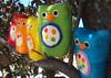 5 Little Owls (BeneathTheRowanTree) Tags: tree birds felted toy rainbow toddler child natural felting handmade waldorf felt needle owl counting owls needlefelted