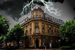 A Creepy Manor? (Macgidtosh) Tags: houses house storm photoshop dark photography nikon perfect photographer flash haus ps creepy adobe elite cs mansion dusseldorf dsseldorf duesseldorf dunkel bliz mansions huser the sturm d300 gruselig pscs herrenhaus blueribbonwinner herrenhuser cherryontop bej golddragon abigfave platinumphoto gwd gwdunguessed elitephotography theperfectphotographer nikond300 goldstaraward