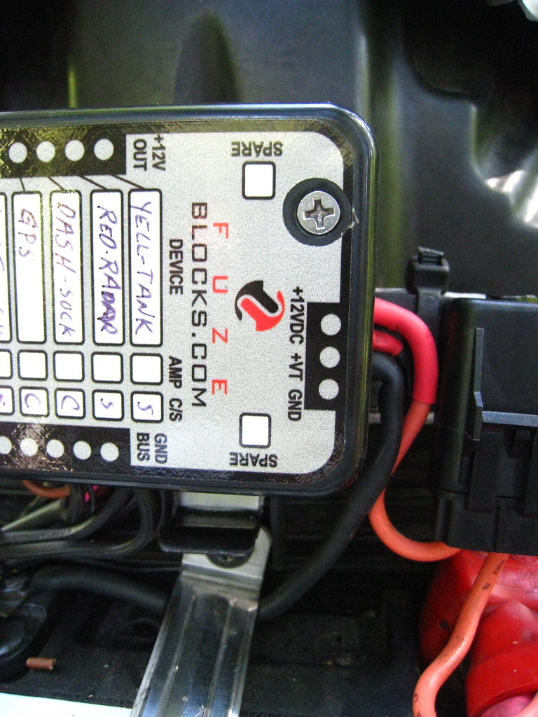 Fuzeblock Install On A R12gs Adventure Rider Bmw Gs 1200 Fuse Box Img