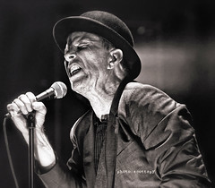 Tom Waits 32 (scottspy) Tags: blackandwhite noir fave gigs singers concerts legend concertphotography thebest tomwaits songwriter raindogs livemusicphotography scottspy glitteranddoom heartattackandvine