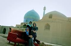 WE ! (Alieh) Tags: blue architecture persian iran persia mosque iranian  esfahan isfahan    atefeh aliehs alieh  matiya  jameabbasimosque      firoozfar  shahshahani