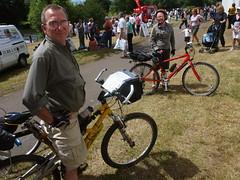 July 13, 2008: Putney to Hampton Court cycle