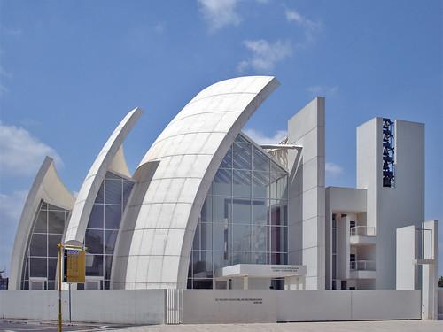 Modern church in Rome