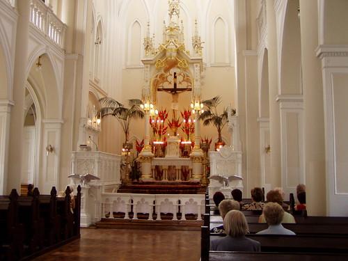 Ołtarz w Świątyni