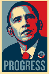 Progress, por Shepard Fairey