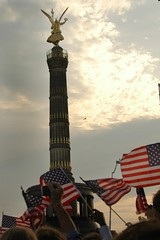 American Flags at Siegessaule (Victory Column)