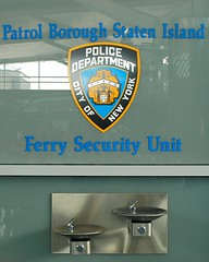 P120s NYPD Ferry Security Unit, St. George Ferry Terminal, Staten Island, New York City (jag9889) Tags: county new york city nyc blue ny building 120 water fountain station ferry modern island design steel police nypd security terminal richmond borough statenisland stgeorge 2008 department lawenforcement patrol finest staten stainless precinct unit p120 firstresponders newyorkcitypolicedepartment y2008 precinct120 jag9889