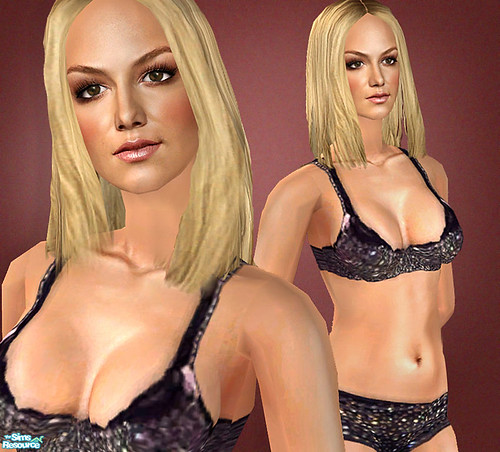 Britney Spears As A Sim! by Amy Loves Nick :D.