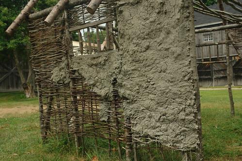 Daub And Wattle Construction