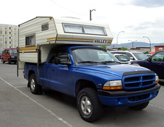 Newish truck for old camper