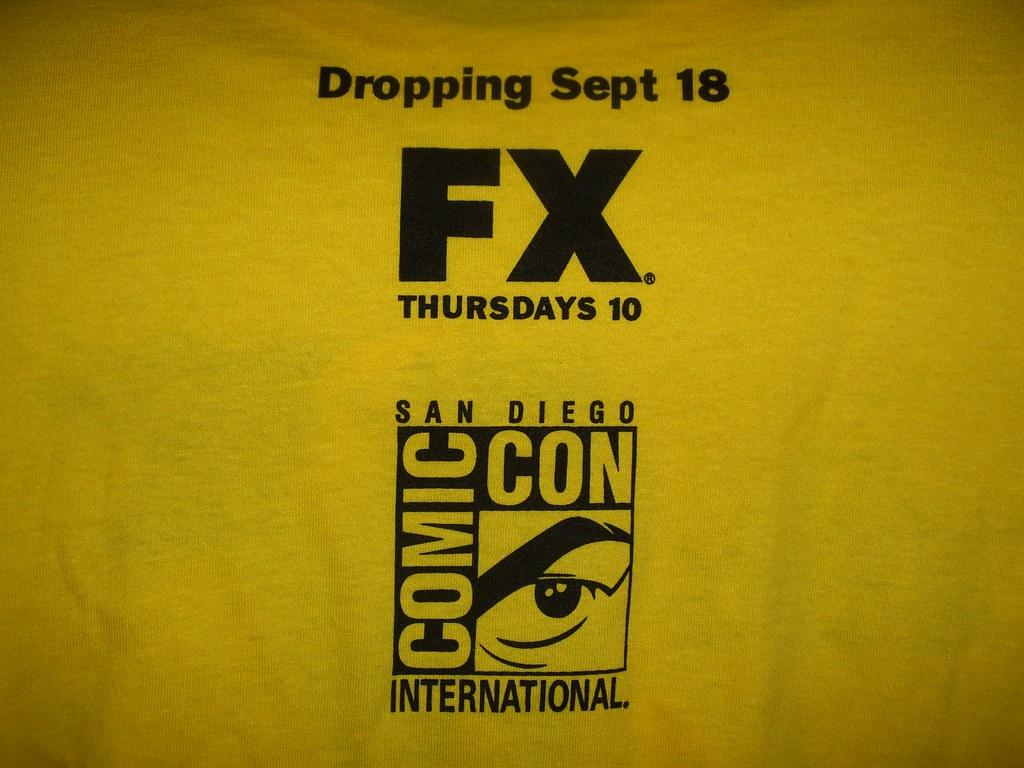 San Diego Comic-Con International 2008 - Freebie T-shirts