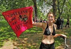 (brian.mickey) Tags: london bike naked ride hydepark nakedbikeride wnbr nudecycling wnbr2008 nudecyclinghydepard