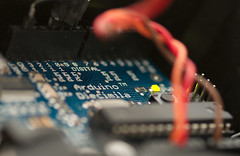 The Unnecessary Bubble (equinoxefr) Tags: sharp led rgb arduino equinoxefr gp2d120