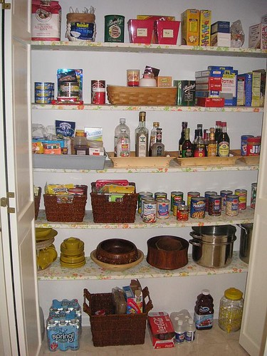 Pantry reorganized