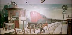 Locust Tower mural (Terry Guy) Tags: railroad art lirr alco longislandrailroad