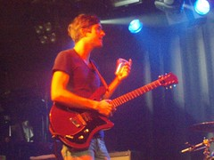 We Are Scientists, Oxford 200808 030 (lauralilauralu) Tags: oxford soundcheck wearescientists