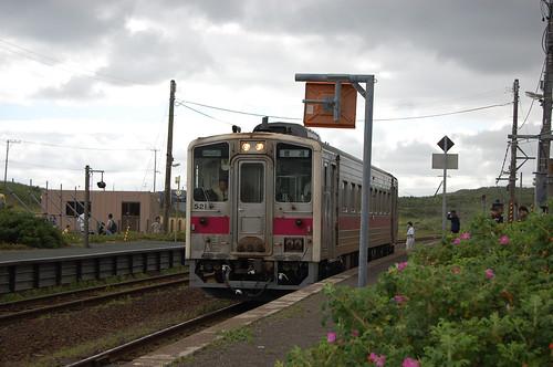 釧網本線、小清水駅
