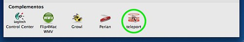 teleport preferencias del sistema