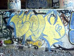 spot (Laser Burners) Tags: nyc newyorkcity brooklyn graffiti spot gothamist kms citynoise