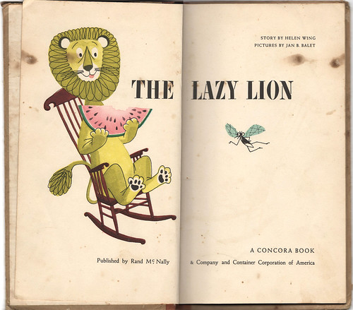 The Lazy Lion 1