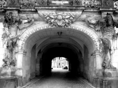 Dresden Residenzschloss (richardr) Tags: old city urban blackandwhite bw sculpture building castle heritage history monochrome architecture germany geotagged deutschland dresden blackwhite gate europa europe european arch saxony statues german sachsen baroque statuary schloss altstadt europeanunion ost saxon deutsch residenz geschichte dresdner schsische centraleurope mitteleuropa residenzschloss baroquearchitecture dresdenaltstadt dresdencastle geo:lon=13738081 dresdnerschloss dresdnerresidenzschloss geo:lat=51053107 augustsstrasse