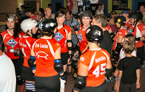 Burning River Roller Girls. Photo: Menacing Buddha