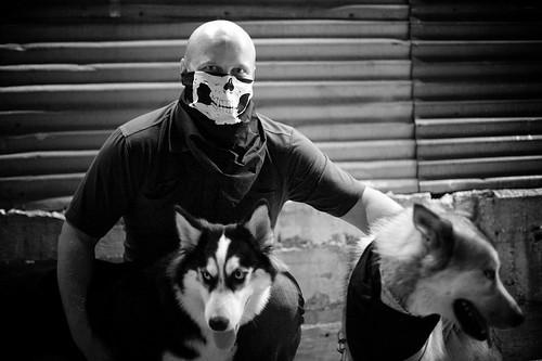 Sam & Huskies
