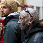 Tatuado e discreto - Tattoed and discreet