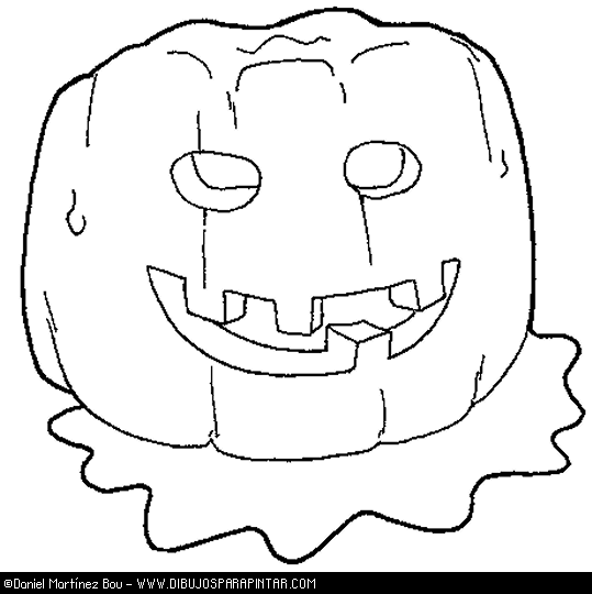 Agridulce » Blog Archive » Dibujos para colorear de Halloween