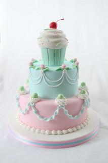 My cake for the Scandinavian Cake Show 2008