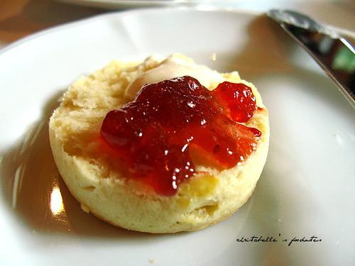 西華飯店Harrod's午茶之scone with jam