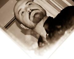 (James Edward Creamer) Tags: me shower james mirror nikon soft bokeh curtain albuquerque rod creamer miror cockeyed d60 1855mmf3556gvr
