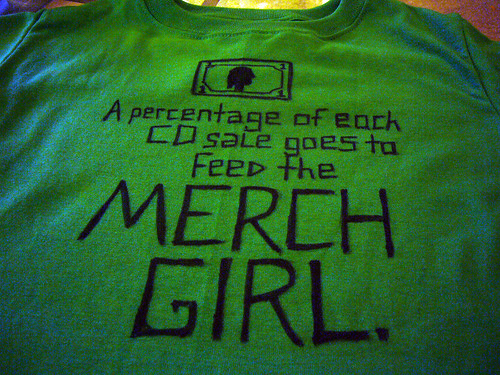 Feed the Merch Girl