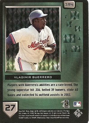 Vladimir Guerrero by you.