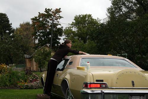Ilus tüdruk, kole auto või nii nad räägivad