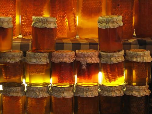 miel en la plaça del Pi