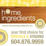 Home Ingredients Vancouver Staging and Rentals