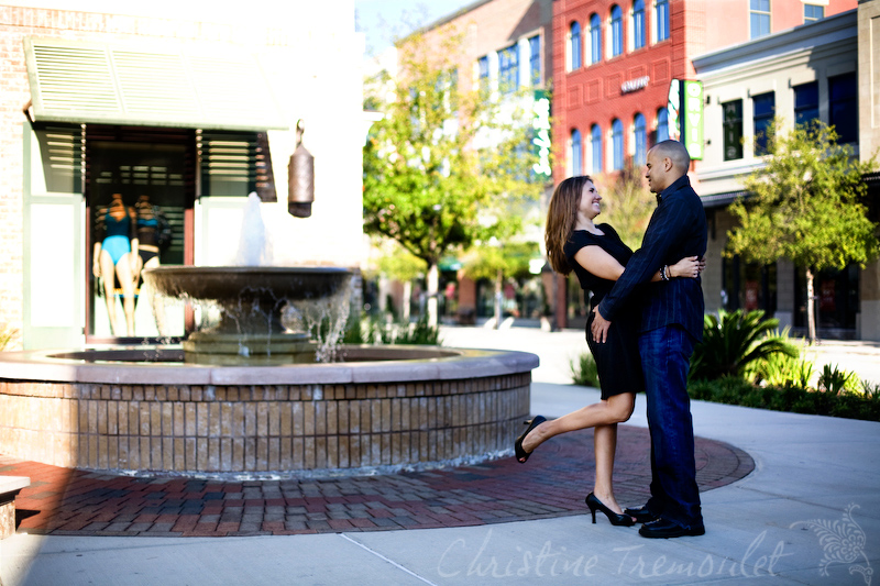Erika & Jason - Engagement Session in The Woodlands, Texas\