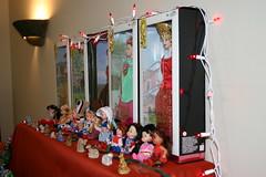 Barbie Dolls on Golu (Jennifer Kumar) Tags: america asian culture 2006 kolu golu navarathri navarathri2006 bommalakoluvu asiasouth hinduholidays koluvu dollsdisplay kolupadi indiainamerica indiancultureinamerica indiaamerica ethnicamericasouth