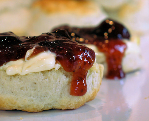 scones with clotted cream and jam 4796