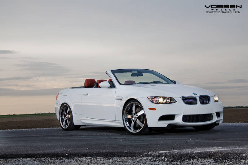 BMW M3 on Vossen VVS084 Wheels
