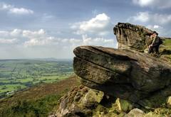 England, Peak District: Breathtaking Views (Tim Blessed) Tags: uk sky nature clouds landscapes scenery rocks peakdistrict sunbeams moorland theroaches singlerawtonemapped