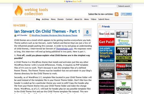 weblog tool collection