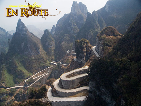 China: Tianmen Mountain National Forest Park | Ironwulf En